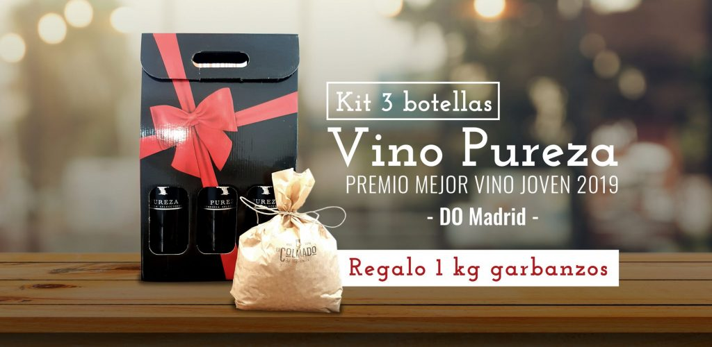 Kit 3 botellas de vino Pureza